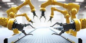 Industrial robotic arms