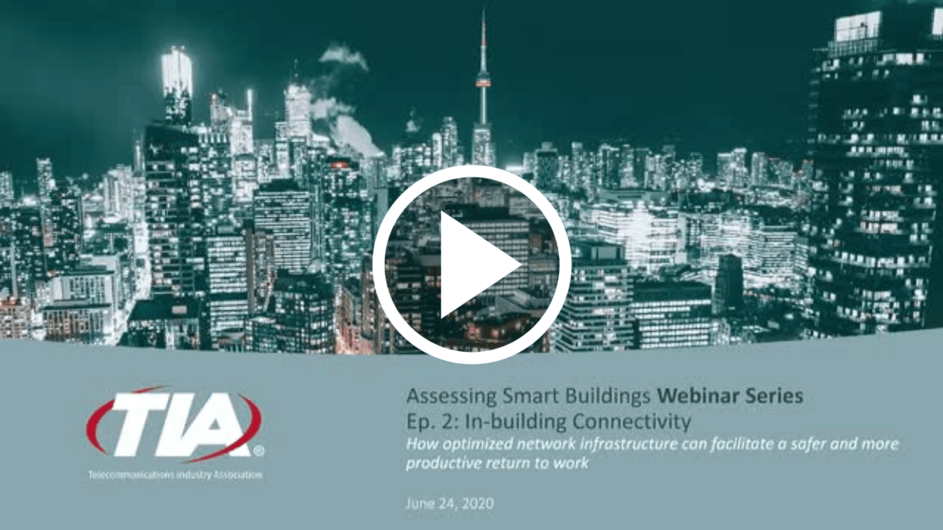 TIA Smart Buildings Webinar - Assessing Smart Buildings - June 2020